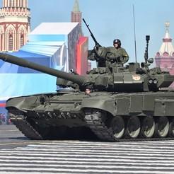 STL files Tank T-90, OvidijusBakas