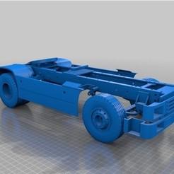 Descargar archivo 3D gratis bastidor del camión tamiya 1/14, OvidijusBakas