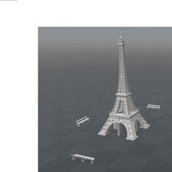 Free 3D printer file Paris Tour Eiffel, Anonyme0602