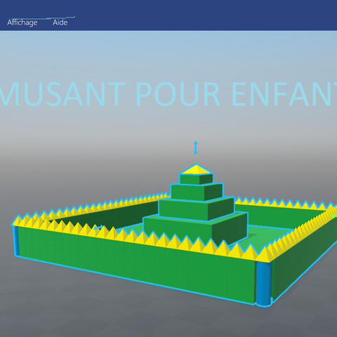 2eme.png Download free STL file CASTLE FOR CHILDREN! • 3D printing object, Anonyme0602
