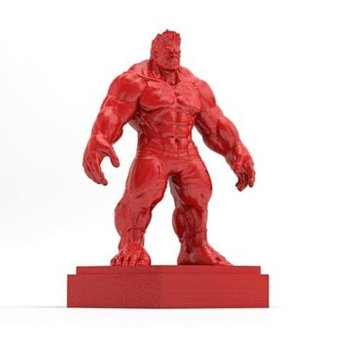 Hulk-04_preview_featured.jpg Download free STL file Hulk • Model to 3D print, X3RPM