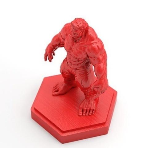 Hulk-01_preview_featured.jpg Download free STL file Hulk • Model to 3D print, X3RPM