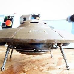 Descargar modelo 3D gratis OVNI WWII, X3RPM