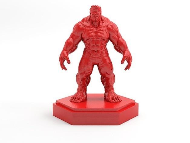 Hulk-02_preview_featured.jpg Download free STL file Hulk • Model to 3D print, X3RPM