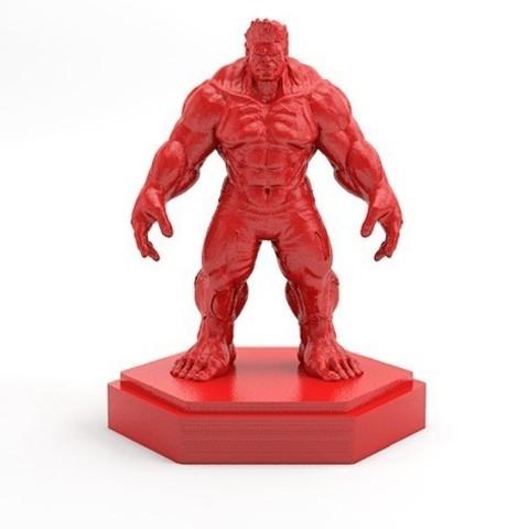 Free 3D printer files Hulk, X3RPM