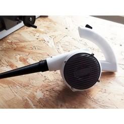 1bdb059866520154e306b21d6940b134_preview_featured.jpg Download free STL file Mini Air Blower • Model to 3D print, X3RPM