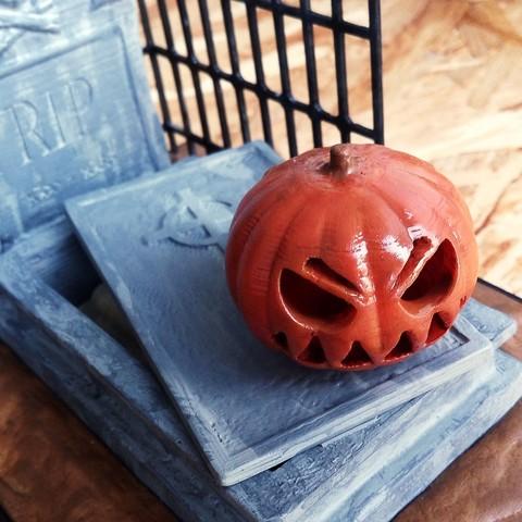 IMG_20171026_090138.jpg Download free STL file Halloween Grave • 3D print model, X3RPM
