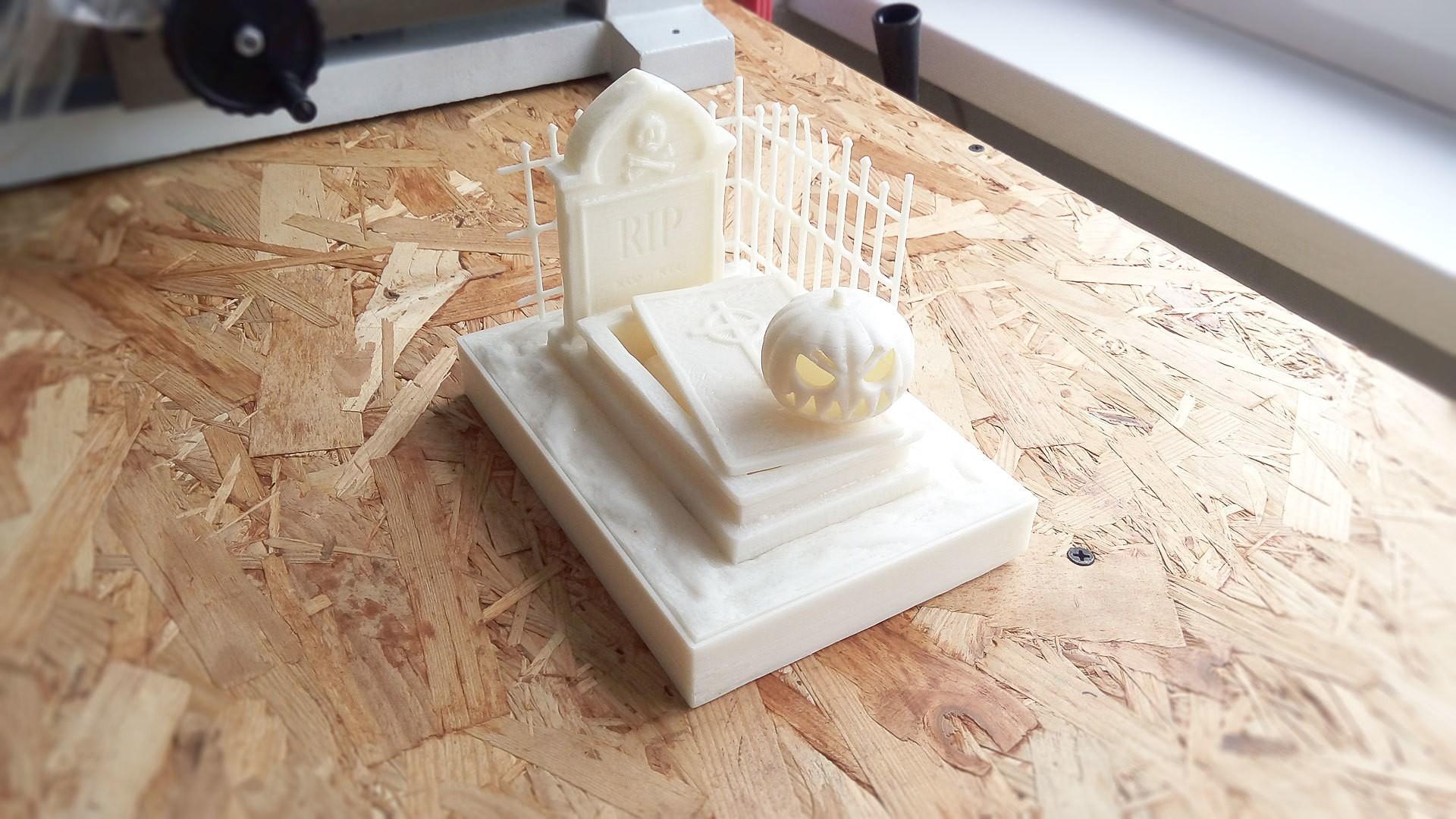 IMG_20171025_135541.jpg Download free STL file Halloween Grave • 3D print model, X3RPM