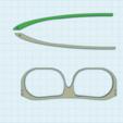 Kingsman.png Download free STL file Kingsman Glasses • 3D printable object, HagridleVrai