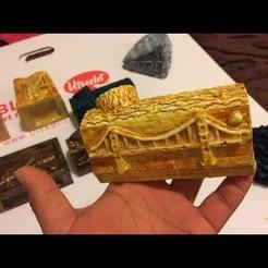 3d printer designs golden gate bridge, subashkkc