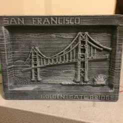 IMG_3252.JPG Download STL file  Goldengate Bridge • 3D printer template, subashkkc