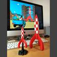 Télécharger fichier STL gratuit Fusée Tintin (Tintin Rocket) • Design pour impression 3D, Wekoyote