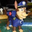 Download STL file Chase Paw Patrol • 3D print template, W1EBR