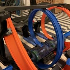 image0 (6).jpg Download STL file Hot wheels track connector • 3D printing design, markosaurus