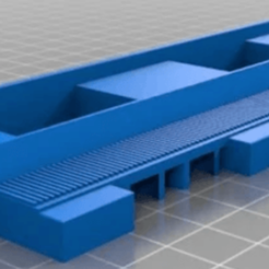 Bez názvu3.png Download STL file Duplo train track straight supportless • 3D print design, markosaurus