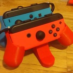 Télécharger modèle 3D Support pour manette de Nintendo switch , Fabplast3d