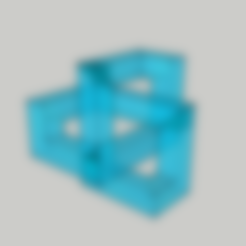 Cubo Trebol Inf 1.stl Download free STL file Clover knot • 3D print object, luis_torres012