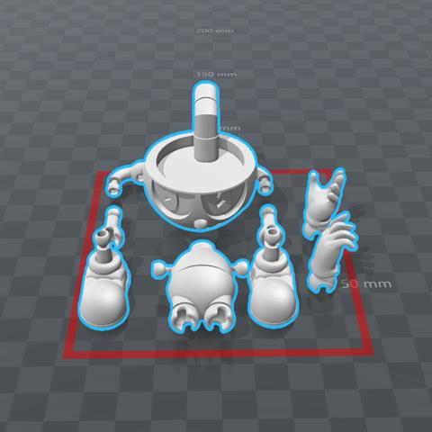 Cuphead 2.0 Versión Final (1).png Download STL file Cuphead - Action Figure • 3D print object, luis_torres012