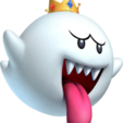 King_boo_mmwii.png Download STL file King Boo • 3D printable template, luis_torres012