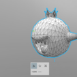 03.png Download STL file King Boo • 3D printable template, luis_torres012