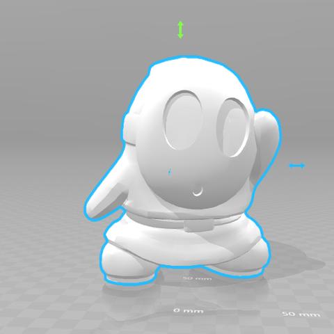 1.png Download STL file Shy Guy • Design to 3D print, luis_torres012