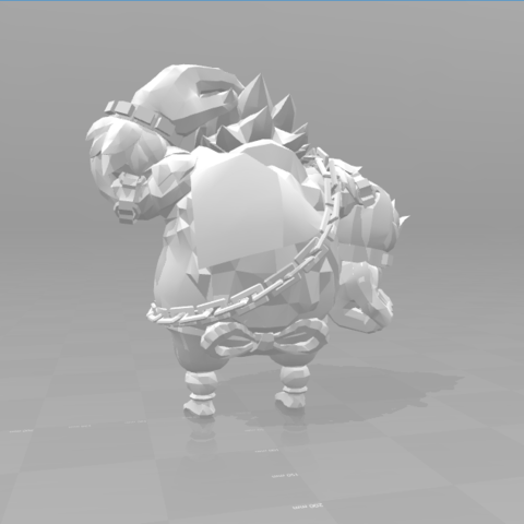 3.png Download STL file Champions • 3D print template, luis_torres012