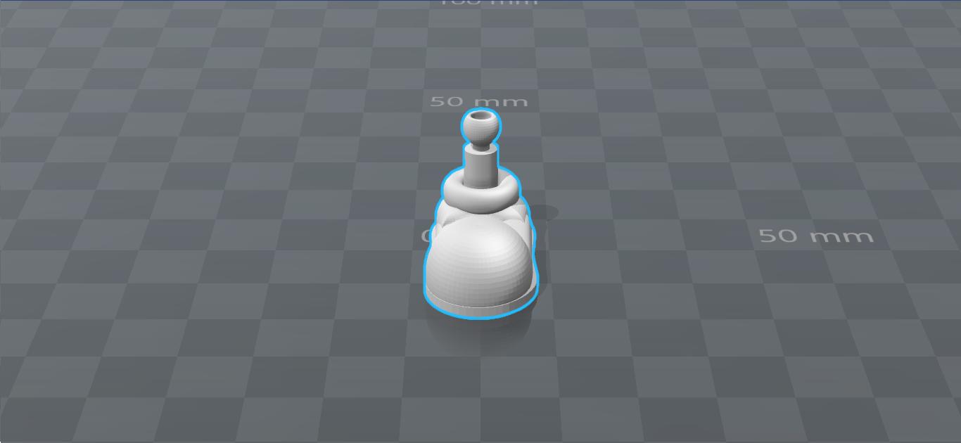 8 - Pie Izquierdo.png Download STL file Cuphead - Action Figure • 3D print object, luis_torres012
