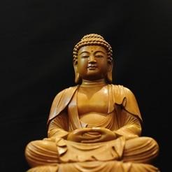 STL files Buddha, luis_torres012