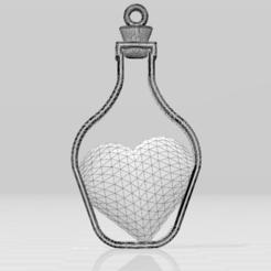 3D print files Heart Pendant, luis_torres012