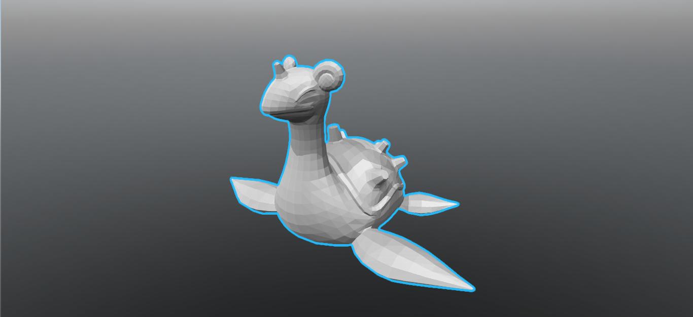 2.png Download STL file Lapras • 3D printer template, luis_torres012
