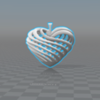 Twisted Hrt 3D model, luis_torres012