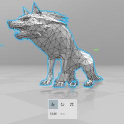 01.png Télécharger fichier STL Lien Loup • Plan pour impression 3D, luis_torres012