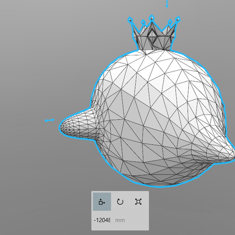 04.png Download STL file King Boo • 3D printable template, luis_torres012