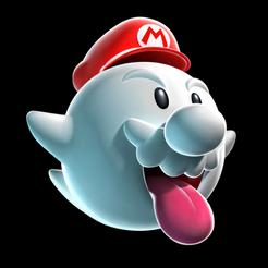 Modelos 3D Boo Mario, luis_torres012