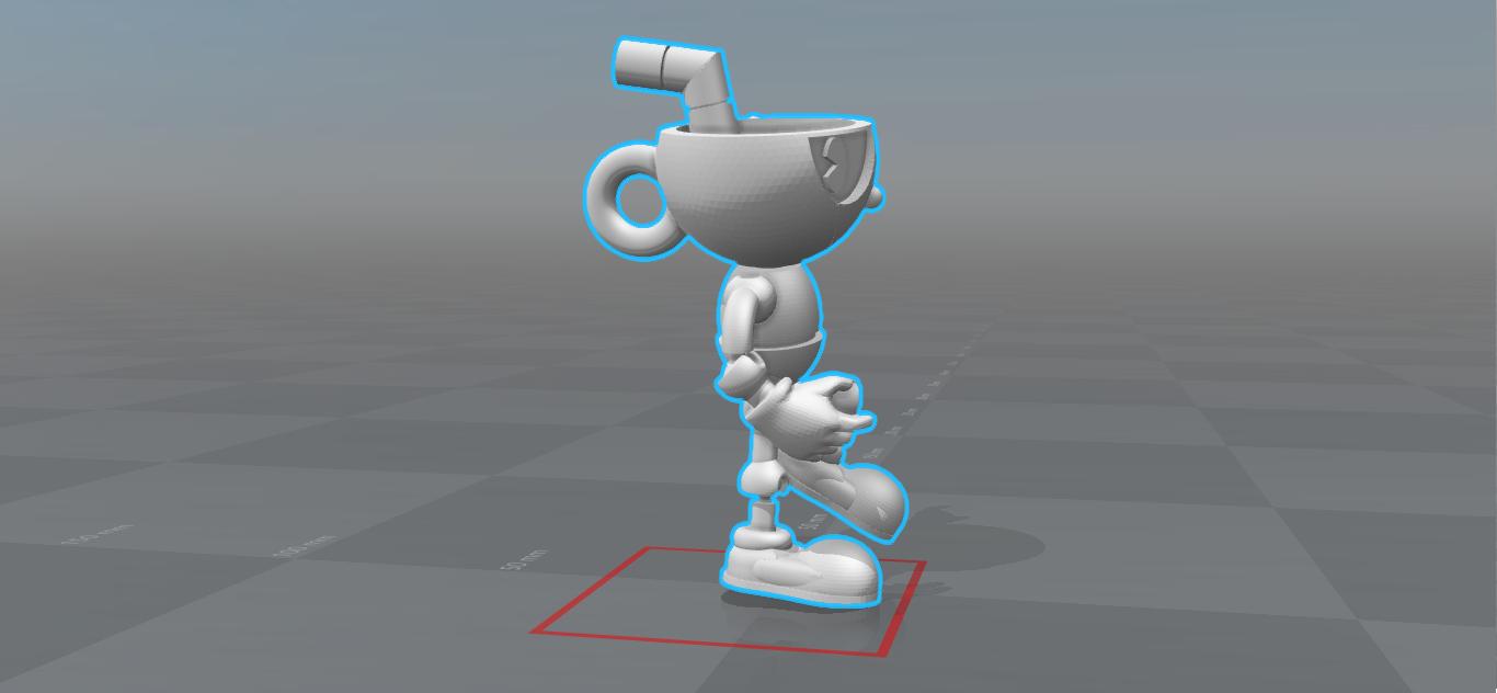 Cuphead 2.0 Versión Final (3) - 4.png Download STL file Cuphead - Action Figure • 3D print object, luis_torres012