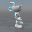3d printer designs Cuphead - Action Figure, luis_torres012