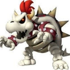 Dry_Bowser_M&SOWG.jpg Download STL file Dry Bowser • 3D printer model, luis_torres012