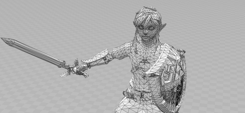07.png Download STL file Link vs Centaleon • 3D printer object, luis_torres012