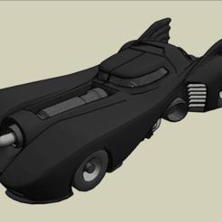 Descargar diseños 3D gratis Batmobile, luis_torres012