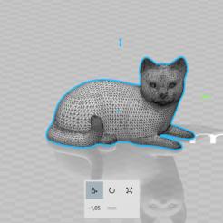 STL files Cat, luis_torres012