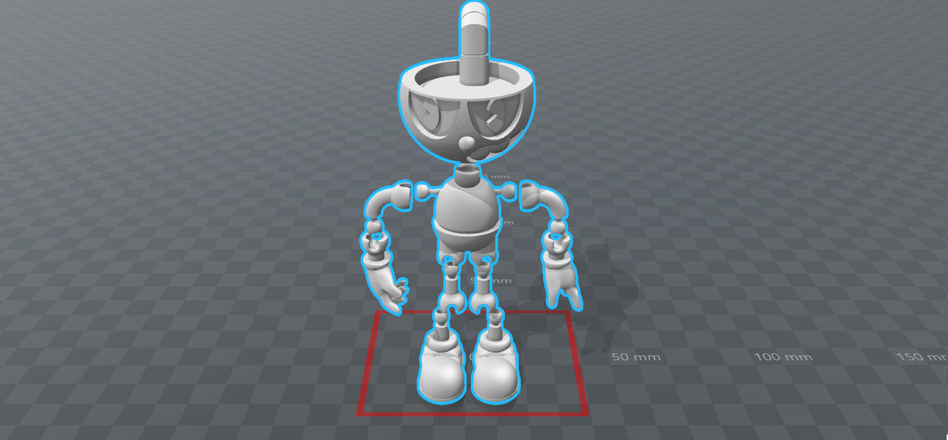 Cuphead 2.0 Versión Final (2).png Download STL file Cuphead - Action Figure • 3D print object, luis_torres012