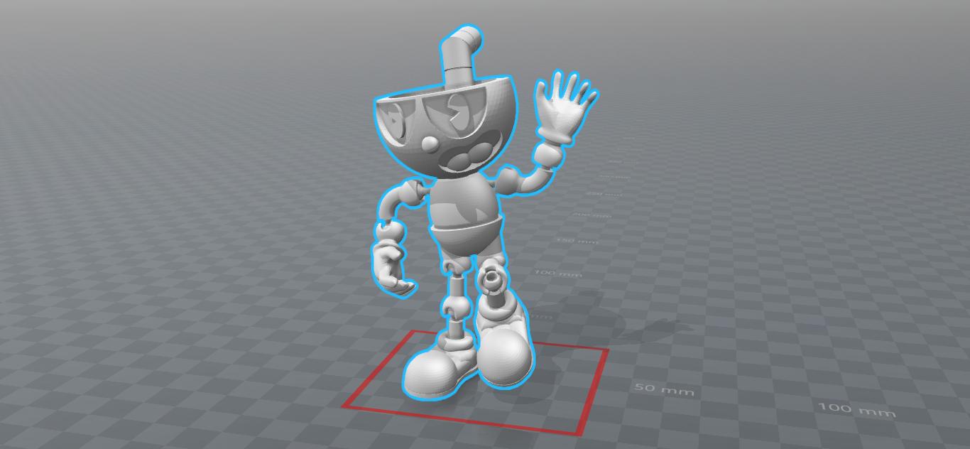 Cuphead 2.0 Versión Final (3) - 1.png Download STL file Cuphead - Action Figure • 3D print object, luis_torres012