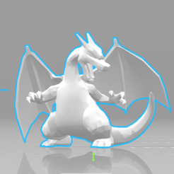 1.png Download STL file Charizard • 3D print model, luis_torres012