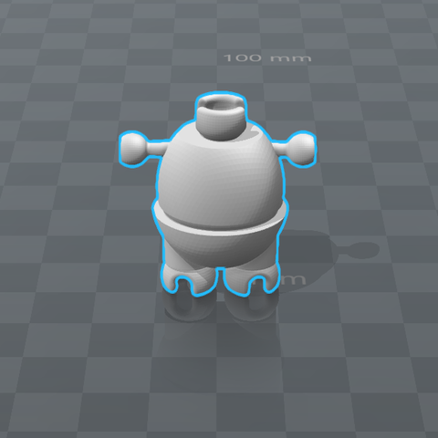 9 - Pecho.png Download STL file Cuphead - Action Figure • 3D print object, luis_torres012