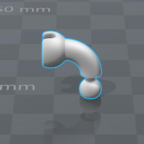 5 - Codo Izquierdo.png Download STL file Cuphead - Action Figure • 3D print object, luis_torres012