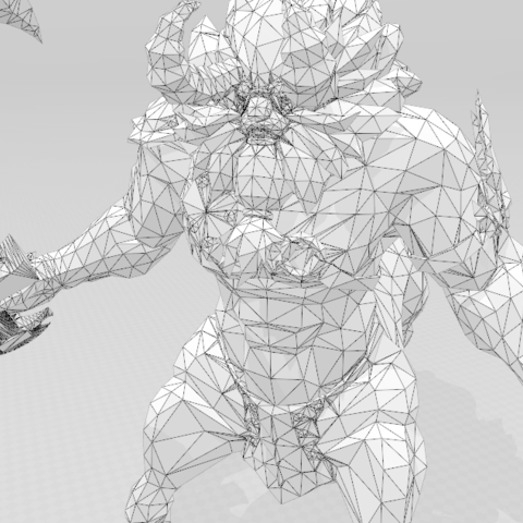 06.png Download STL file Link vs Centaleon • 3D printer object, luis_torres012