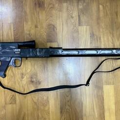 9DB8E566-9F67-40F2-A7AC-0079427EDCC5.jpeg Télécharger fichier STL Modèle 3D du fusil de chasse des scouts E-11S • Modèle à imprimer en 3D, GilbertLai