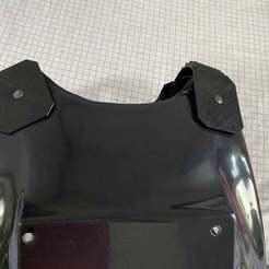 IMG_1053.jpg Download free STL file Tie Pilot costume Octagon on shoulder straps • 3D print design, GilbertLai