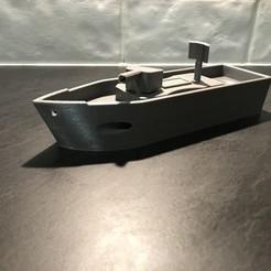 objet 3d gratuit GBE: Gunboat, irblinX