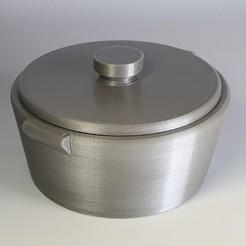 Free stl Blinxpan Cooking Pot, irblinX